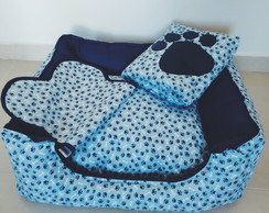 Kit Cama+Tapete+Edredom Pet DogChamp G