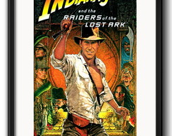 Quadro Indiana Jones com Paspatur