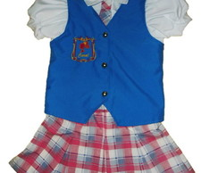 barbie escola de princesa (uniforme)