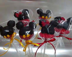 Cake Pops Do Mickey ou da minie