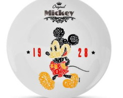 Prato Decorativo Mickey Type