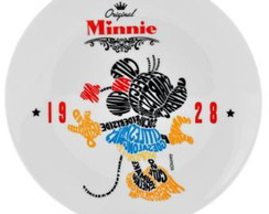 Prato Decorativo Minnie Type