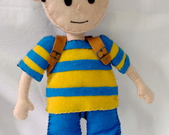 Ness - EarthBound costurado á mão.