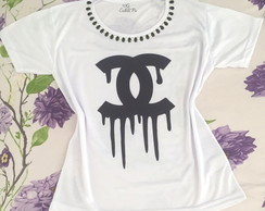 Camiseta Chanel Customizada