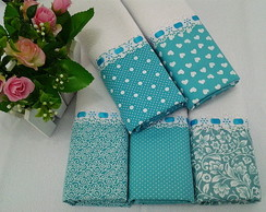 Kit Pano de Prato Azul Tiffany