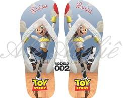 Chinelo Toy Story Personalizado