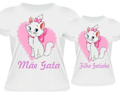 KIT CAMISETAS GATA MARIE