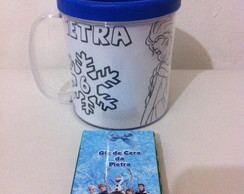 Kit de colorir na caneca