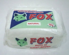 Massa biscuit fox natural 1kg