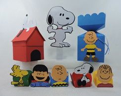 Kit scrap festa Snoopy e Charlie Brown