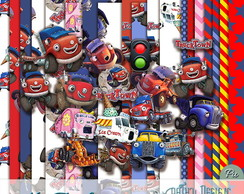 Kit Scrapbook Digital Trucktown