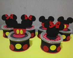 Porta guloseimas do mickey e minnie