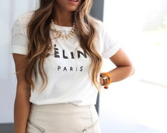 Camiseta Céline Paris