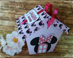 MINNIE-casinha p/ bombom
