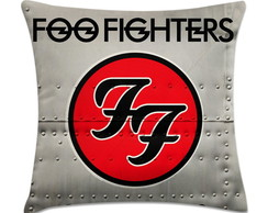 capa de almofada foo fighters