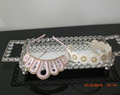 Tiara bordada