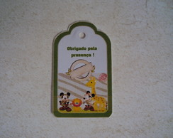Tag Agradecimento Mickey Safari 0487