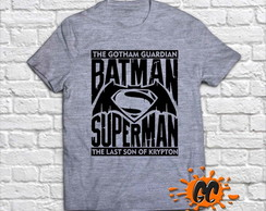 Camiseta Superman vs Batman