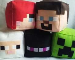 Personagens Minecraft Feltro Grande