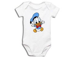 Body OU Camiseta Pato Donald Baby