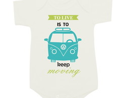 To live is to keep moving - Kombi