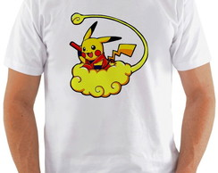 Camiseta Crossover Dragon Ball Pikachu