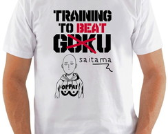 Camiseta Training To Beat Saitama #1