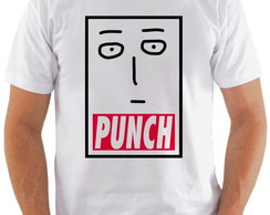 Camiseta One Punch Man #4 Face Saitama