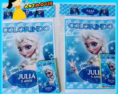 Kit de Colorir Elsa