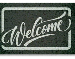 Tapete Capacho - Welcome