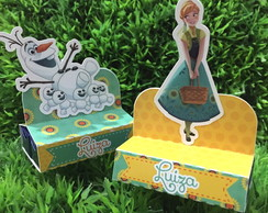 Porta Chocolate Duplo Frozen Fever