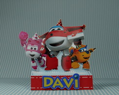 Caixa para chocolate Duplo - Super Wings