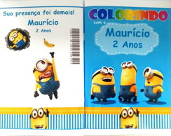 Kit de colorir Minions