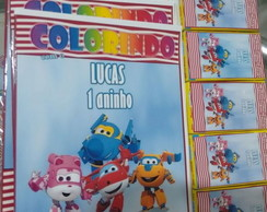 Kit de color Super Wings