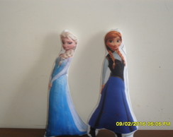 Almofada frozen formato do personagem