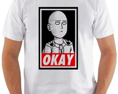 Camiseta One Punch Man #6 Okay
