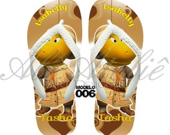 Chinelo Backyardigans Personalizado