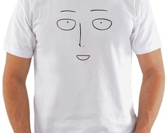 Camiseta One Punch Man #10 Saitama Face