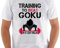 Camiseta Training To Beat Goku #1