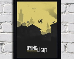 Poster com moldura Dying Light