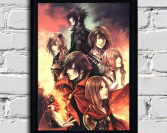 Poster com moldura Final Fantasy Epic