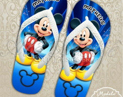 Chinelo Mickey Mouse Personalizado Havaianas Top Original