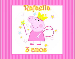 Kit Arte Digital - Peppa Pig Fadinha