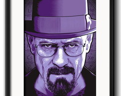 Quadro Breaking Bad Limited com Paspatur