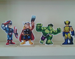 Display de Mesa Super Heróis