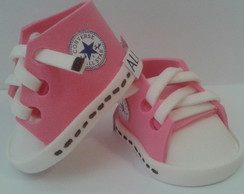 Mini Tênis All Star Rosa Salmão