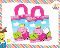 Sacolas Eco Bag Peppa Pig