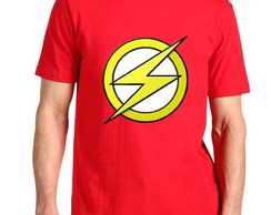 Camiseta The Flash 100% Algodão