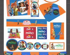 Kit Festa Digital Zootopia