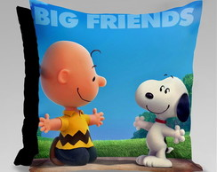 CAPA ALMOFADA SNOOPY BIG FRIENDS